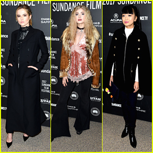 Zoey Deutch & 'Before I Fall' Cast Premiere New Film at Sundance Film Festival