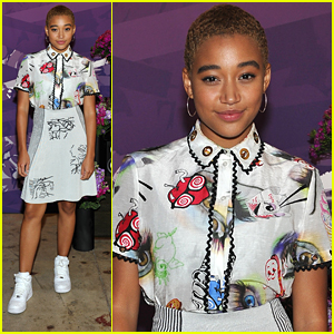 Amandla Stenberg Defends New Movie 'Where Hands Touch' on Instagram