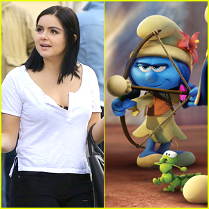 See A First Look at Ariel Winter's 'Smurf' Character!