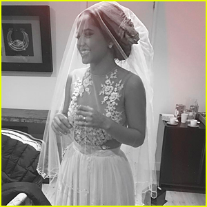 Why is Becky G Wearing A Wedding Dress? Is She Really Getting Married?
