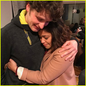 Gina Rodriguez & 'Jane the Virgin' Cast Say Goodbye to Brett Dier