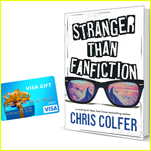 Win a Copy of Chris Colfer's New Book 'Stranger Than Fanfiction'!