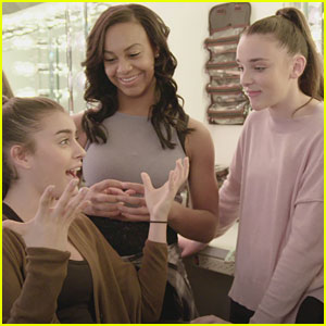EXCLUSIVE: 'Dance Moms' Stars Kendall, Nia, Kalani & Brynn Crash a Fans' Birthday Party - WATCH NOW