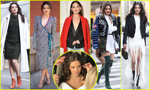 Danielle Campbell Makes Her Dreams Come True at NYFW - Exclusive BTS Photos!