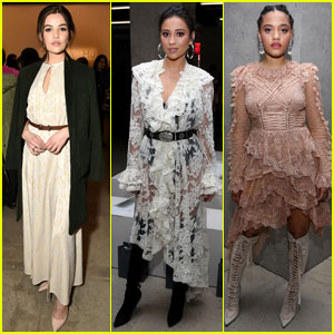 Danielle Campbell & Shay Mitchell Are All the Inspiration We Need at NYFW