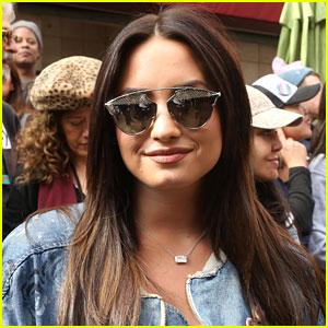 Demi Lovato Confronts President Trump Over Dividing the Country