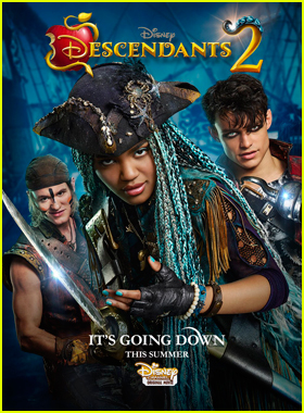 'Descendants 2' Villains Take Center Stage on Rebellious New Poster!