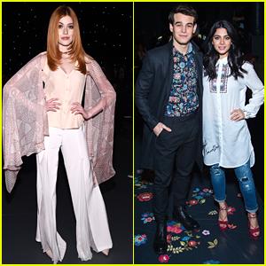 Shadowhunters' Clary, Izzy & Simon Take On New York Fashion Week