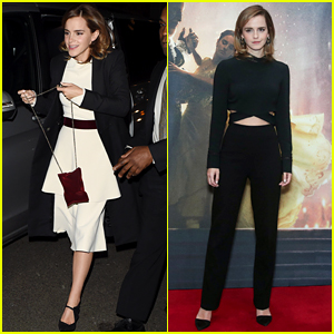 Emma Watson Recycles Dress for 'Beauty' Party & Looks Just as Amazing as the First Time!