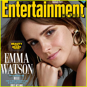 Emma Watson Stuns on EW's 'Beauty & the Beast' Preview Issue