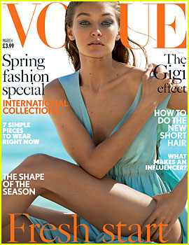 Gigi Hadid Tells 'British Vogue' She Can't Stay Awake During Movies