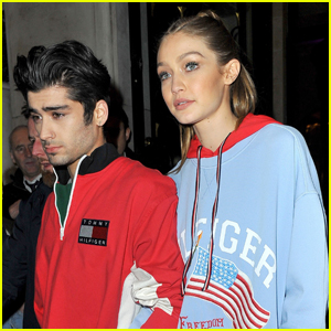 Gigi Hadid & Zayn Malik Couple Up For 'Tommy Hilfiger' Dinner