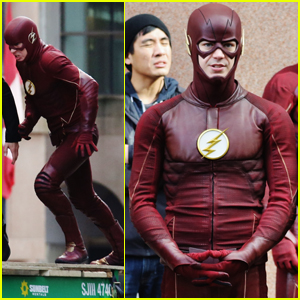 Grant Gustin & Tom Felton Are Good Guys on the Set of 'The Flash'