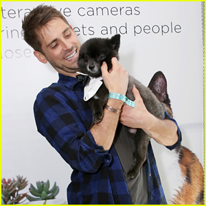 Baby Daddy's Jean-Luc Bilodeau Cuddles With A Puppy & It's The Cutest Thing Ever!