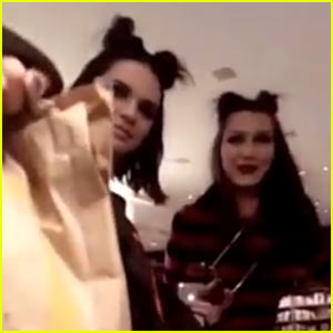 Kendall Jenner Shows Fans Some of Her Family's Favorite Fast Food Treats! (Video)