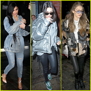 Kendall & Kylie Jenner Step Out Separately During NYFW!