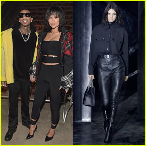 Kylie Jenner Rocks a Wig to Alexander Wang's Fashion Show