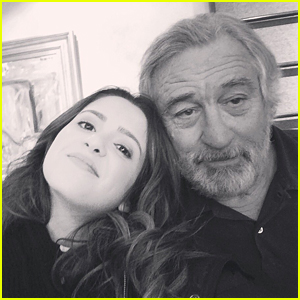 Laura Marano Shares First Pic From 'War With Grandpa' Set