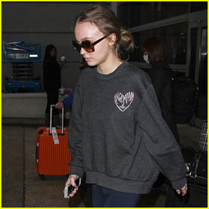 Lily-Rose Depp is Back in L.A. After Paris Fashion Week