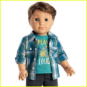 The New 'American Girl' Doll is a Boy - Meet Logan Everett!