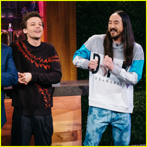 Louis Tomlinson Slid into Steve Aoki's DMs on Twitter!