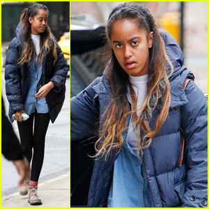 Malia Obama is Living it Up in the Big Apple!