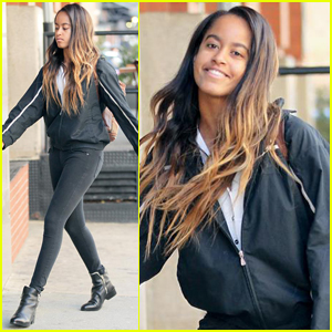 Malia Obama Is Loving Life at Her Internship!