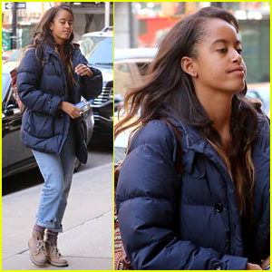 Malia Obama Kicks Off Another Week at Her Harvey Weinstein Internship