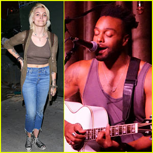 Paris Jackson Has 'Good Vibes' at Cousin Austin Brown's Concert (Video)