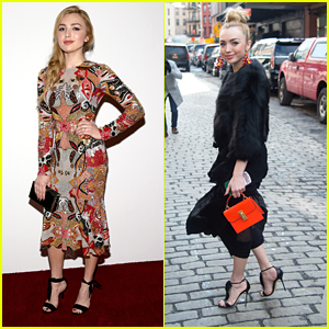 Peyton List Dishes On New Movie During Fashion Week