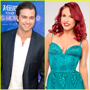 Pierson Fode Flirts With DWTS Pro Sharna Burgess on Twitter