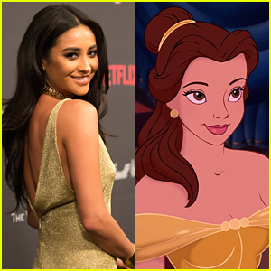 Shay Mitchell Turns Into Belle From 'Beauty & The Beast' For New Skit
