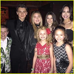 Sofia Carson Reunites With 'Adventures in Babysitting' Cast For Disney's Jungle Ball!