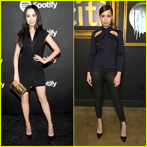 No One Can Catch Up To Sofia Carson's Style Game For Grammy Weekend