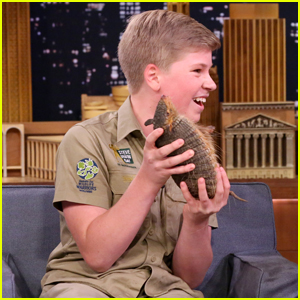 Steve Irwin's 13-Year-Old Son Robert is an Adorable Animal Expert!