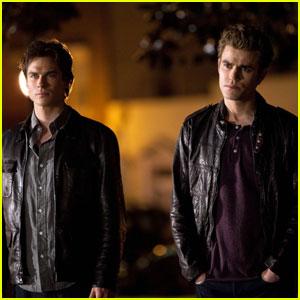 Stefan And Damon Salvatore