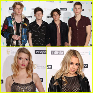 The Vamps & Anya Taylor-Joy Attend the EE Rising Star Awards!
