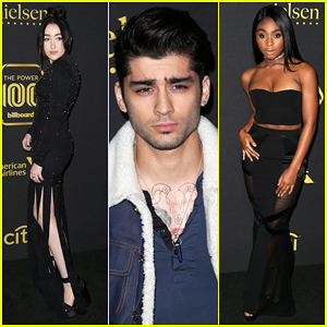 Zayn Malik, Noah Cyrus & Normani Kordei Kick Off Grammy Weekend At Billboard Power 100 Party!