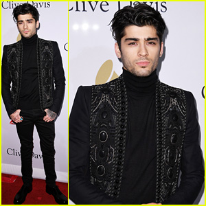 Zayn Malik Is Stylish in Balmain at Pre-Grammy Gala!