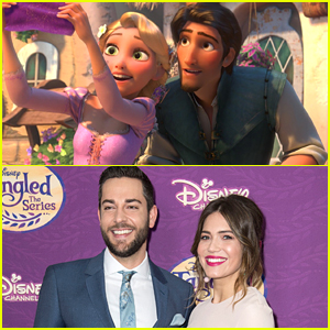 'Tangled's Rapunzel & Eugene Invited The 'Andi Mack' Cast To 'Tangled: Before Ever After' Premiere!
