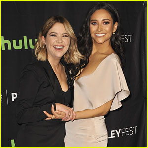 Ashley Benson Just Knew Shay Mitchell Was Going To Get The Part of Emily on 'Pretty Little Liars'