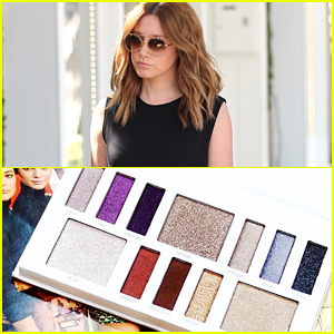 This New Pic of Ashley Tisdale's Illuminate Goddess Palette Is So Pretty That We Need It Right Now!