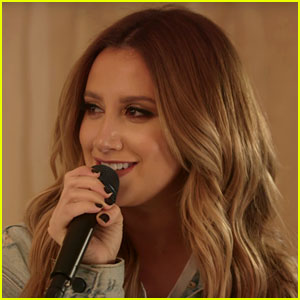 Ashley Tisdale Slows Down 'Shut Up & Dance' for New Music Sessions Video!