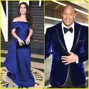 'Moana's Auli'i Cravalho Really Loved Dwayne Johnson's Blue Velvet Oscars Suit
