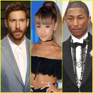 Ariana Grande Is Teaming Up With Calvin Harris & Pharrell Williams For A New Song!