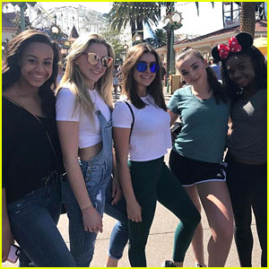 Chloe Lukasiak & Kendall Vertes Hang With 'Dance Moms' Friends at Disneyland