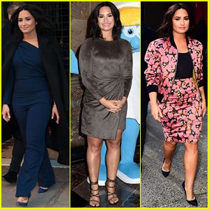 Demi Lovato's Press Day Looks Are So Chic You'll Have Trouble Picking a Favorite!