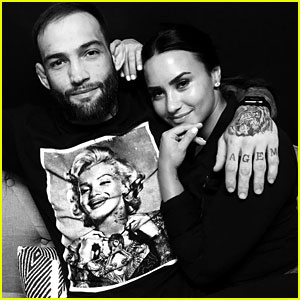 Is She Engaged? Demi Lovato Shows Off Ring on THAT Finger -- Pic Inside