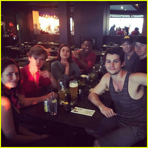 Dylan O'Brien Reunites With 'Maze Runner' Cast in New Photo!