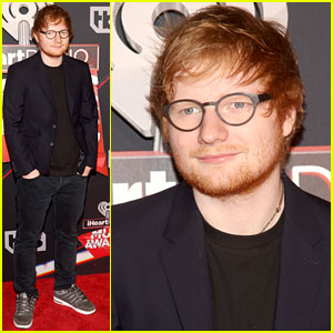 Ed Sheeran Walks the iHeartRadio Music Awards 2017 Red Carpet!